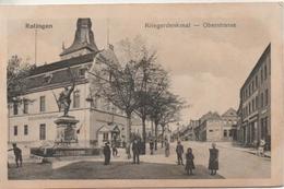 RATINGEN  KRIEGERDENKMAL OBERSTRASSE   En 1923 - Ratingen