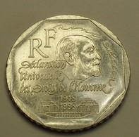 1998 - France - 2 FRANCS, René Cassin, KM 1213, Gad 551 - Commémoratives