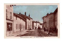 CPA 01 - Pont De Veyle ( Ain ) - Le Grand Faubourg - France
