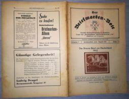 THE STAMP MESSENGER- DER BRIEFMARKEN BOTE MAGAZINE, GERMAN, HERMANNSTADT-SIBIU, NR 7/8, JULY-AUGUST 1942, ROMANIA - Riviste