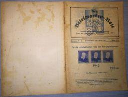 THE STAMP MESSENGER- DER BRIEFMARKEN BOTE MAGAZINE, GERMAN, HERMANNSTADT-SIBIU, NR 10/11, OCTOBER-NOVEMBER 1942, ROMANIA - Riviste