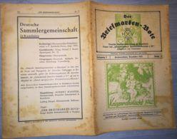 THE STAMP MESSENGER- DER BRIEFMARKEN BOTE MAGAZINE, GERMAN, HERMANNSTADT-SIBIU, NR 12, DECEMBER 1942, ROMANIA - Riviste