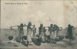 Asmara Donne Baza Ai Pozzi Di Tolè - Eritrea