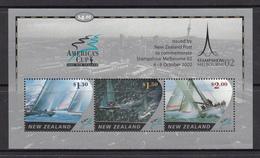 New Zealand MNH Michel Nr Block 141  / From 2002 / Catw 8.00 EUR - Blokken & Velletjes