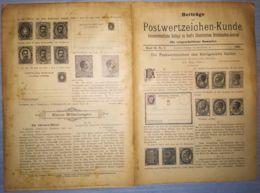 ILLUSTRATED STAMPS JOURNAL- ILLUSTRIERTES BRIEFMARKEN JOURNAL MAGAZINE SUPPLEMENT, LEIPZIG, NR 9, 1895, GERMANY - Riviste