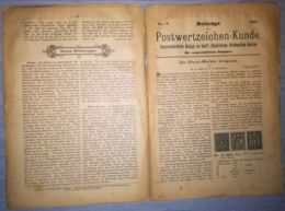 ILLUSTRATED STAMPS JOURNAL- ILLUSTRIERTES BRIEFMARKEN JOURNAL MAGAZINE SUPPLEMENT, LEIPZIG, NR 4, 1891, GERMANY - Riviste