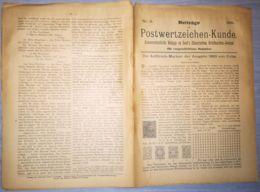 ILLUSTRATED STAMPS JOURNAL- ILLUSTRIERTES BRIEFMARKEN JOURNAL MAGAZINE SUPPLEMENT, LEIPZIG, NR 6, 1891, GERMANY - Riviste