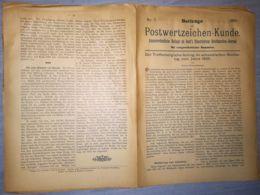 ILLUSTRATED STAMPS JOURNAL- ILLUSTRIERTES BRIEFMARKEN JOURNAL MAGAZINE SUPPLEMENT, LEIPZIG, NR 7, 1891, GERMANY - Riviste