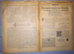 ILLUSTRATED STAMPS JOURNAL- ILLUSTRIERTES BRIEFMARKEN JOURNAL MAGAZINE SUPPLEMENT, LEIPZIG, NR 8, 1891, GERMANY - Riviste