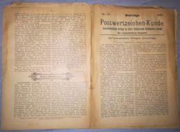 ILLUSTRATED STAMPS JOURNAL- ILLUSTRIERTES BRIEFMARKEN JOURNAL MAGAZINE SUPPLEMENT, LEIPZIG, NR 10, 1892, GERMANY - Riviste
