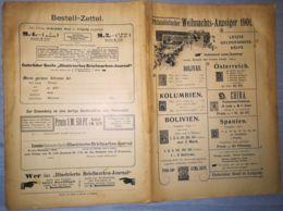 PHILATELISTS CHRISTMAS GAZETTE- PHILATELISTISCHER WEIHNACHTS ANZEIGER MAGAZINE, LEIPZIG, 1901, GERMANY - Riviste