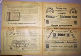 SCHAUBEKS STAMPS ALBUM- SCHAUBEKS BRIEFMARKEN ALBUM MAGAZINE, LEIPZIG, NR 24, 1902, GERMANY - Riviste