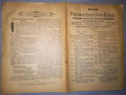 ILLUSTRATED STAMPS JOURNAL- ILLUSTRIERTES JOURNAL MAGAZINE SUPPLEMENT FOR COLLECTORS, LEIPZIG, NR 7, 1901, GERMANY - Riviste