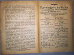 ILLUSTRATED STAMPS JOURNAL- ILLUSTRIERTES JOURNAL MAGAZINE SUPPLEMENT FOR COLLECTORS, LEIPZIG, NR 9, 1901, GERMANY - Riviste