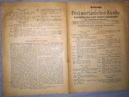 ILLUSTRATED STAMPS JOURNAL- ILLUSTRIERTES JOURNAL MAGAZINE SUPPLEMENT FOR COLLECTORS, LEIPZIG, NR 8, 1901, GERMANY - Riviste