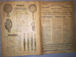 HOFMANN'S ILLUSTRATED MAGAZINE- HOFMANNS ILLUSTRIERTE RUNDSCHAU, STAMP COLLECTORS, LEIPZIG, NR 7, 1924, GERMANY - Riviste