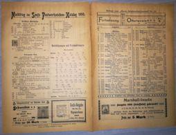 ILLUSTRATED STAMPS JOURNAL- ILLUSTRIERTES BRIEFMARKEN JOURNAL MAGAZINE SUPPLEMENT, PRICE LIST, LEIPZIG, 1900, GERMANY - Riviste