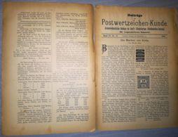 ILLUSTRATED STAMP JOURNAL-ILLUSTRIERTES BRIEFMARKEN JOURNAL MAGAZINE SUPPLEMENT, COLLECTORS, NR 12, 1902, GERMANY - Riviste