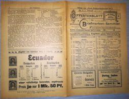 ILLUSTRATED STAMP JOURNAL-ILLUSTRIERTES BRIEFMARKEN JOURNAL MAGAZINE PRICE LIST, LEIPZIG, NR 3, 1902, GERMANY - Riviste