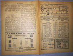 ILLUSTRATED STAMP JOURNAL-ILLUSTRIERTES BRIEFMARKEN JOURNAL MAGAZINE PRICE LIST, LEIPZIG, NR 7, 1902, GERMANY - Riviste