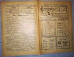 ILLUSTRATED STAMP JOURNAL-ILLUSTRIERTES BRIEFMARKEN JOURNAL MAGAZINE PRICE LIST, LEIPZIG, NR 10, 1902, GERMANY - Riviste