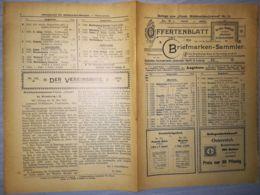 ILLUSTRATED STAMP JOURNAL-ILLUSTRIERTES BRIEFMARKEN JOURNAL MAGAZINE PRICE LIST, LEIPZIG, NR 12, 1902, GERMANY - Riviste