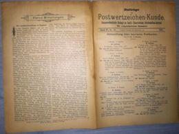 ILLUSTRATED STAMP JOURNAL-ILLUSTRIERTES BRIEFMARKEN JOURNAL MAGAZINE SUPPLEMENT, LEIPZIG, NR 10, 1901, GERMANY - Riviste