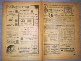 ILLUSTRATED STAMP JOURNAL-ILLUSTRIERTES BRIEFMARKEN JOURNAL MAGAZINE PRICE LIST, LEIPZIG, NR 24, 1902, GERMANY - Riviste