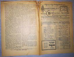 ILLUSTRATED STAMP JOURNAL-ILLUSTRIERTES BRIEFMARKEN JOURNAL MAGAZINE PRICE LIST, LEIPZIG, NR 13, 1902, GERMANY - Riviste