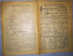 ILLUSTRATED STAMP JOURNAL-ILLUSTRIERTES BRIEFMARKEN JOURNAL MAGAZINE PRICE LIST, LEIPZIG, NR 16, 1902, GERMANY - Riviste