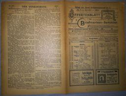 ILLUSTRATED STAMP JOURNAL-ILLUSTRIERTES BRIEFMARKEN JOURNAL MAGAZINE PRICE LIST, LEIPZIG, NR 17, 1902, GERMANY - Riviste