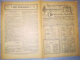 ILLUSTRATED STAMP JOURNAL-ILLUSTRIERTES BRIEFMARKEN JOURNAL MAGAZINE PRICE LIST, LEIPZIG, NR 19, 1902, GERMANY - Riviste