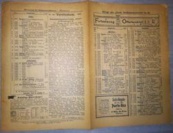 ILLUSTRATED STAMP JOURNAL-ILLUSTRIERTES BRIEFMARKEN JOURNAL MAGAZINE PRICE LIST, LEIPZIG, NR 20, 1902, GERMANY - Riviste
