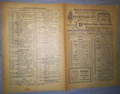 ILLUSTRATED STAMP JOURNAL-ILLUSTRIERTES BRIEFMARKEN JOURNAL MAGAZINE PRICE LIST, LEIPZIG, NR 21, 1902, GERMANY - Riviste