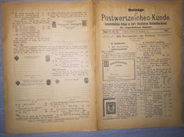 ILLUSTRATED STAMP JOURNAL-ILLUSTRIERTES BRIEFMARKEN JOURNAL MAGAZINE SUPPLEMENT, LEIPZIG, NR 14, 1902, GERMANY - Riviste