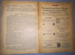 ILLUSTRATED STAMP JOURNAL-ILLUSTRIERTES BRIEFMARKEN JOURNAL MAGAZINE SUPPLEMENT, LEIPZIG, NR 15, 1902, GERMANY - Riviste