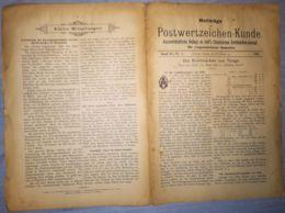 ILLUSTRATED STAMP JOURNAL-ILLUSTRIERTES BRIEFMARKEN JOURNAL MAGAZINE SUPPLEMENT, LEIPZIG, NR 4, 1900, GERMANY - Riviste