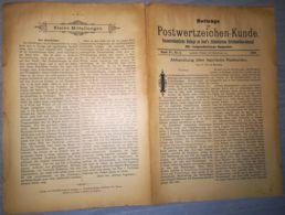 ILLUSTRATED STAMP JOURNAL-ILLUSTRIERTES BRIEFMARKEN JOURNAL MAGAZINE SUPPLEMENT, LEIPZIG, NR 5, 1900, GERMANY - Riviste