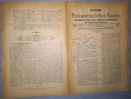 ILLUSTRATED STAMP JOURNAL-ILLUSTRIERTES BRIEFMARKEN JOURNAL MAGAZINE SUPPLEMENT, LEIPZIG, NR 6, 1900, GERMANY - Riviste