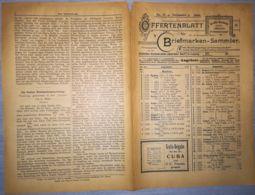 ILLUSTRATED STAMP JOURNAL-ILLUSTRIERTES BRIEFMARKEN JOURNAL MAGAZINE PRICE LIST, LEIPZIG, NR 11, 1900, GERMANY - Riviste