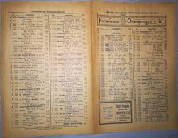 ILLUSTRATED STAMP JOURNAL-ILLUSTRIERTES BRIEFMARKEN JOURNAL MAGAZINE PRICE LIST, LEIPZIG, NR 22, 1899, GERMANY - Riviste