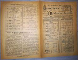 ILLUSTRATED STAMP JOURNAL-ILLUSTRIERTES BRIEFMARKEN JOURNAL MAGAZINE PRICE LIST, LEIPZIG, NR 9, 1900, GERMANY - Riviste
