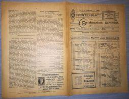ILLUSTRATED STAMP JOURNAL-ILLUSTRIERTES BRIEFMARKEN JOURNAL MAGAZINE PRICE LIST, LEIPZIG, NR 2, 1900, GERMANY - Riviste