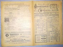 ILLUSTRATED STAMP JOURNAL-ILLUSTRIERTES BRIEFMARKEN JOURNAL MAGAZINE PRICE LIST, LEIPZIG, NR 3, 1900, GERMANY - Riviste