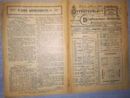 ILLUSTRATED STAMP JOURNAL-ILLUSTRIERTES BRIEFMARKEN JOURNAL MAGAZINE PRICE LIST, LEIPZIG, NR 4, 1900, GERMANY - Magazines
