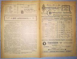 ILLUSTRATED STAMP JOURNAL-ILLUSTRIERTES BRIEFMARKEN JOURNAL MAGAZINE PRICE LIST, LEIPZIG, NR 5, 1900, GERMANY - Riviste