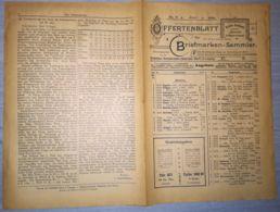 ILLUSTRATED STAMP JOURNAL-ILLUSTRIERTES BRIEFMARKEN JOURNAL MAGAZINE PRICE LIST, LEIPZIG, NR 6, 1900, GERMANY - Riviste