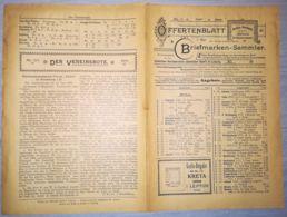 ILLUSTRATED STAMP JOURNAL-ILLUSTRIERTES BRIEFMARKEN JOURNAL MAGAZINE PRICE LIST, LEIPZIG, NR 7, 1900, GERMANY - Magazines