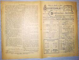 ILLUSTRATED STAMP JOURNAL-ILLUSTRIERTES BRIEFMARKEN JOURNAL MAGAZINE PRICE LIST, LEIPZIG, NR 8, 1900, GERMANY - Riviste