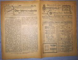 ILLUSTRATED STAMP JOURNAL-ILLUSTRIERTES BRIEFMARKEN JOURNAL MAGAZINE PRICE LIST, LEIPZIG, NR 1, 1901, GERMANY - Magazines